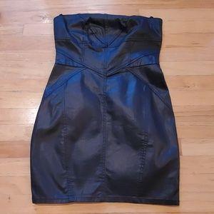Forever 21 Black Strapless Dress size large